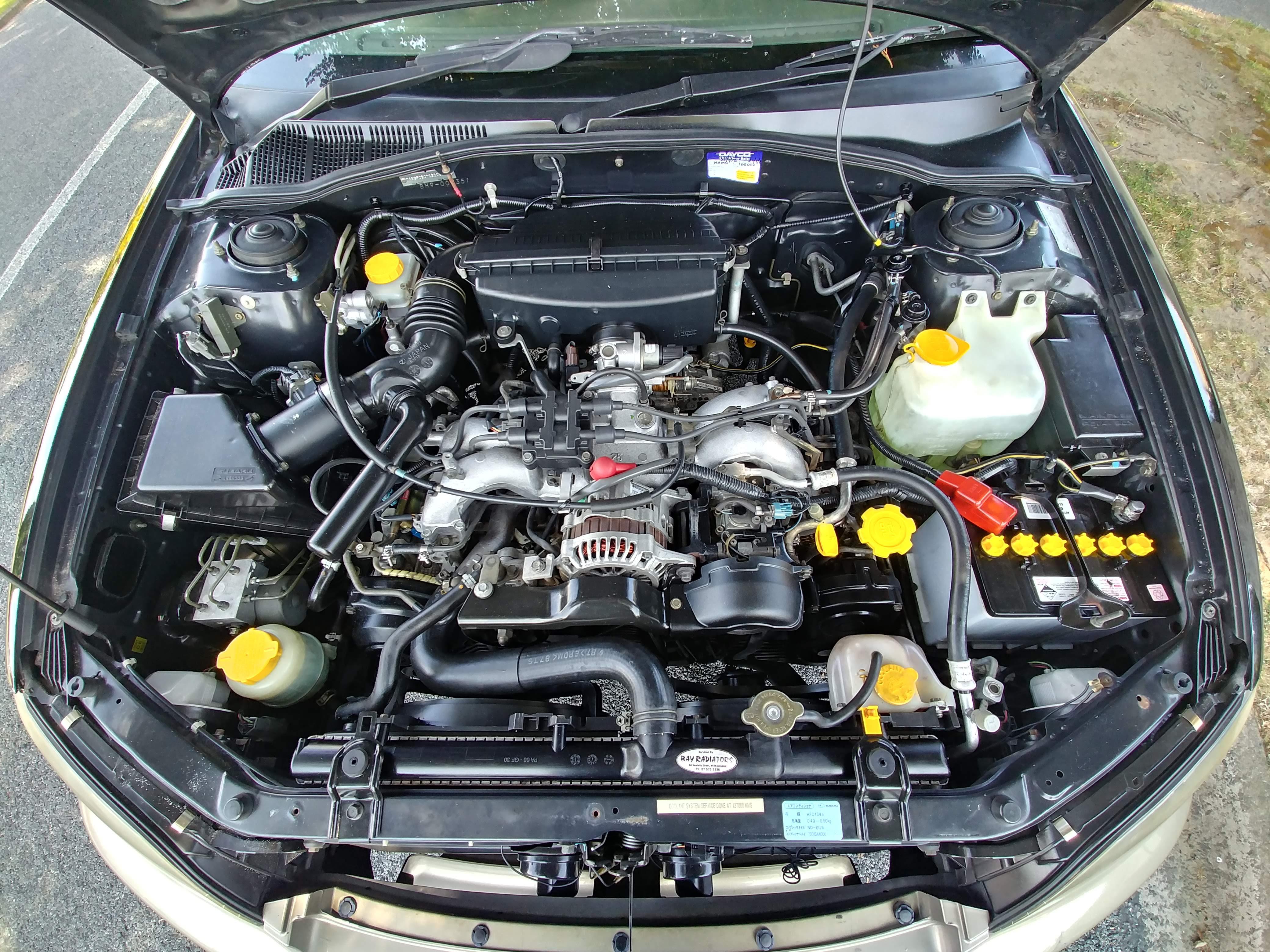 SUBARU LEGACY LANCASTER 4WD 1998 – GFM Autos